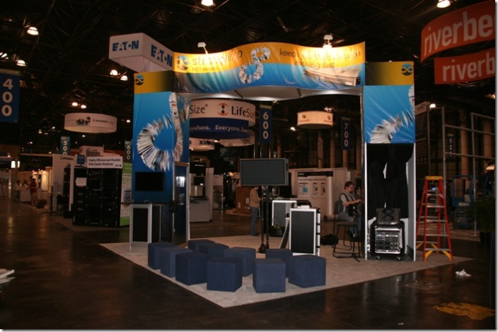 The booth at Interop 2007